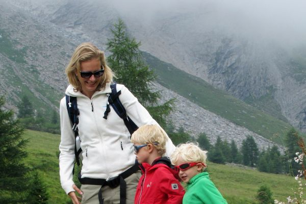 zonnebril in de bergen