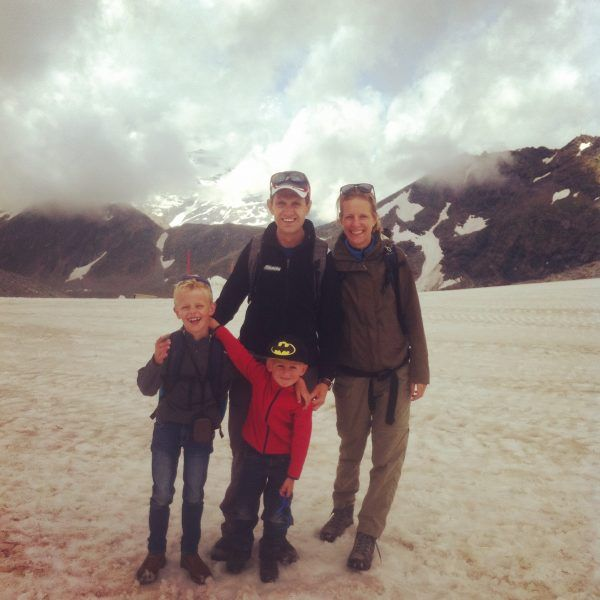 Molltaler gletsjer zomer