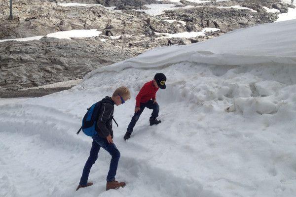 moltaler gletsjer sneeuw