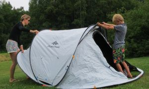 Review Decathlon Fresh & Black tent