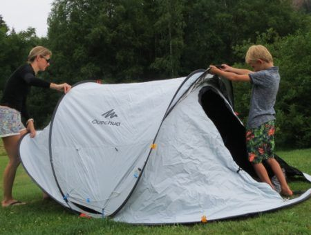 Review: Decathlon Fresh & Black tent getest