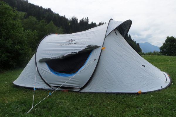 review quecha tent