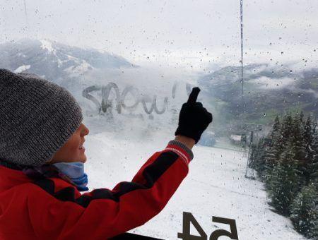 Het sneeuwt! In augustus…