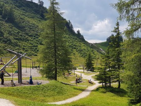 Wandelen op de Grafenberg in Wagrain