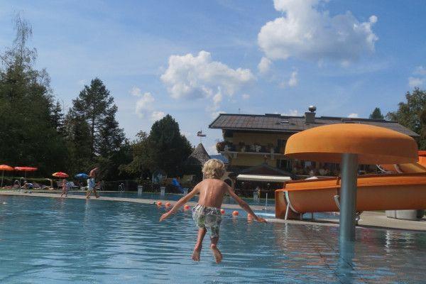 zwembad radstadt - lekker rustig