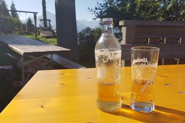 drinken tijdens een wandeling