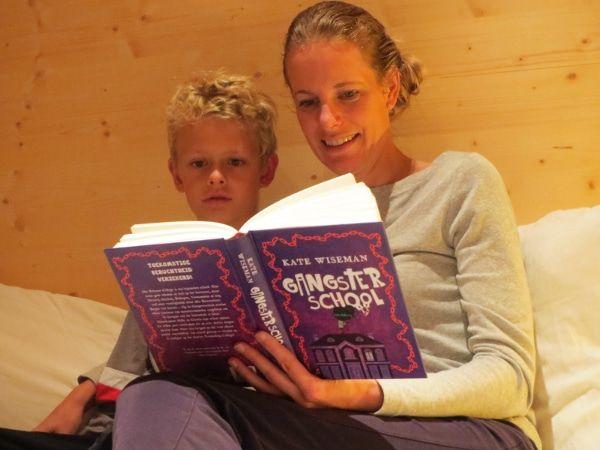 lezen in de herfstvakantie voorlezen voor het slapen