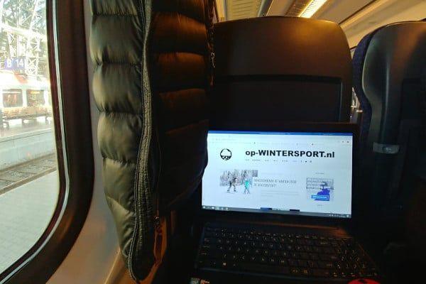 Trein naar Oostenrijk