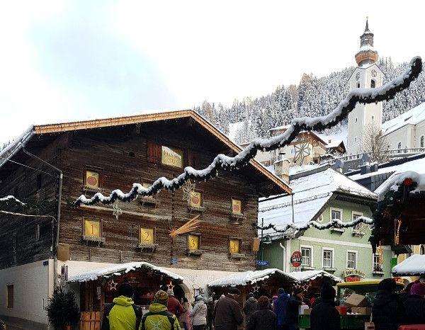 December in Oostenrijk - de kerstmarkt van Grossarl
