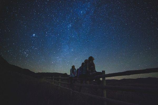 sterren kijken tijdens de herfst in Oostenrijk.