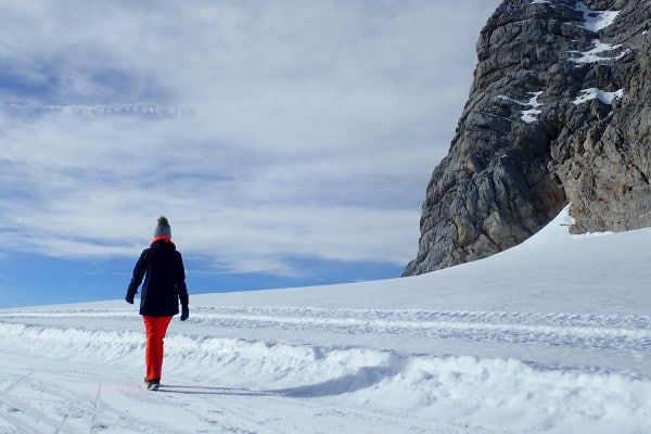 winterwandelen dachstein gletsjer