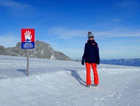 Winterwandeling op de Dachstein Gletsjer