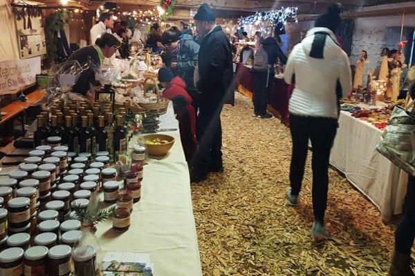 hoogste kerstmarkt van de alpen