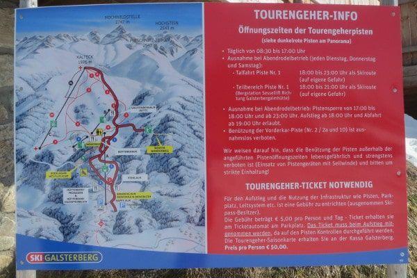 toer ski route