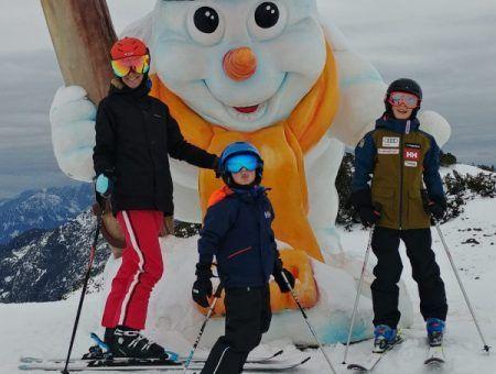 Onze eerste skidagen deze winter