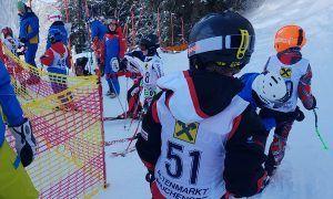 Zo skiën de Oostenrijkse kinderen