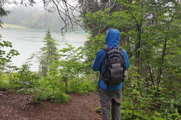 wandel Checklist - regenjas gaat altijd mee