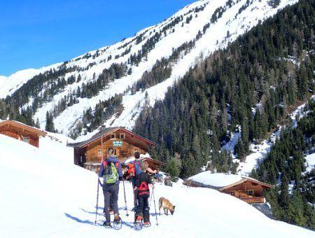 Waanzinnige sneeuwschoenwandeling in Neukirchen am Grossvenediger