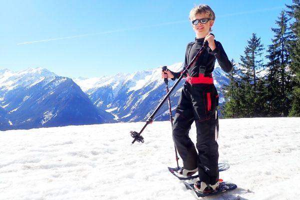 sneeuwshoenwandeling in Salzburgerland