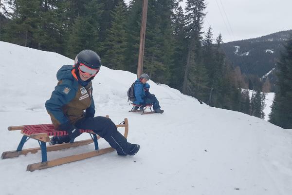 niet skiën tijdens de wintersport welrodelen