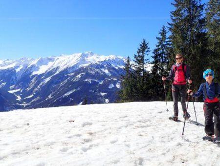 Sneeuwschoenwandelen: de ideale familie activiteit!