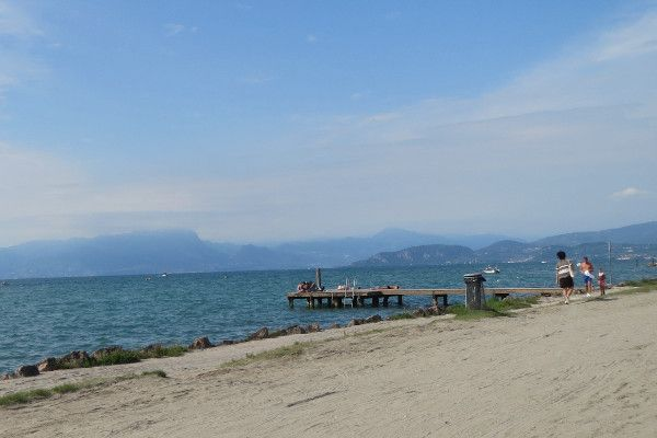 De beste route naar het Gardameer gaat via Oostenrijk.