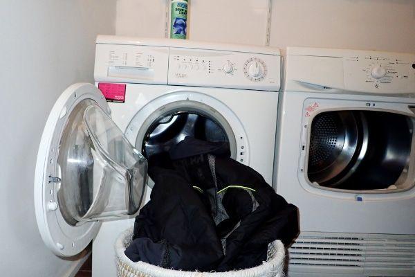 donsjas wassen met wasmachine