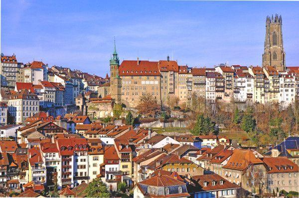 Hotel Freiburg vlakbij de grens met Zwitserland