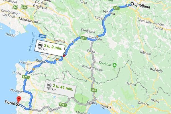 Met de auto naar Kroatië: alternatief voor de drukke grensovergang bij Koper
