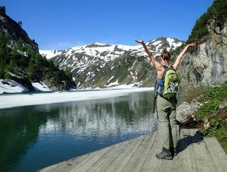 De bijzondere wandelroute naar de Tappenkarsee in Kleinarl
