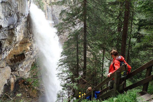 De Johannes waterval in Obertauern