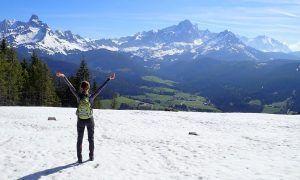 Enorme hoeveelheid sneeuw vertraagt wandelseizoen in de bergen