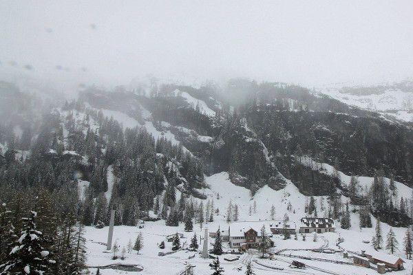 Webcam bij de berghut in Rauris