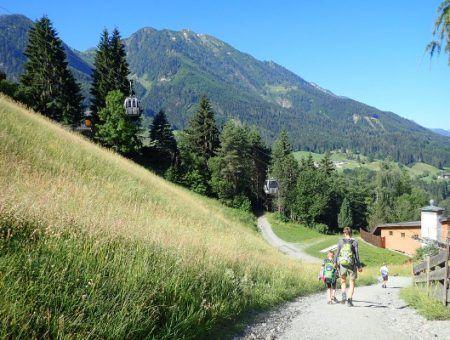 Zomerbeelden: genieten van de hittegolf in Salzburger Sportwelt