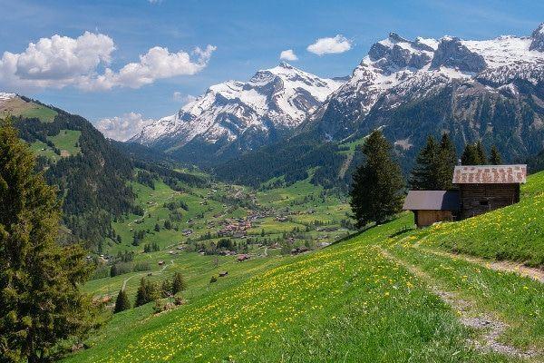 De beste route naar Zwitserland