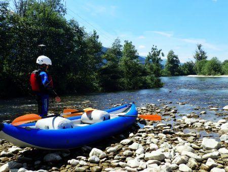 Flusswandern: kajakken over de Enns vanuit Schladming