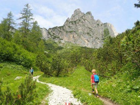 Wandelen in Filzmoos, ultieme familie wandel vakantie