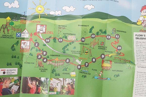 Flori Flachau kaart