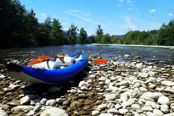 Kano varen in Oostenrijk