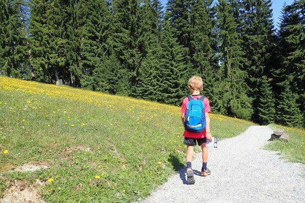 Wandelen door de bergen
