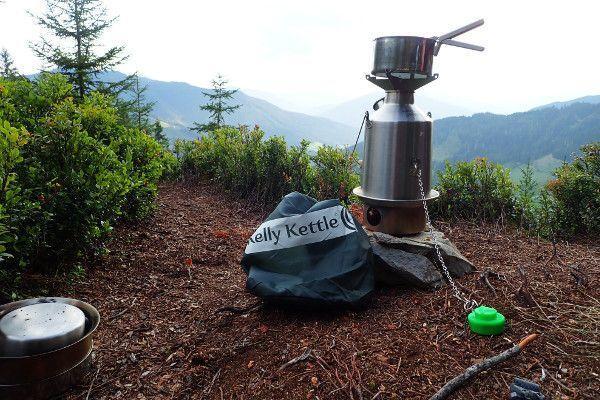 Snel water koken tijdens het wildkamperen of bushcraften
