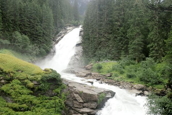 krimml watervallen zomer