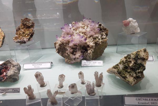 Museum Erze, gold und minerale