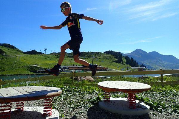 Speeltuinen in Obertauern in de zomer