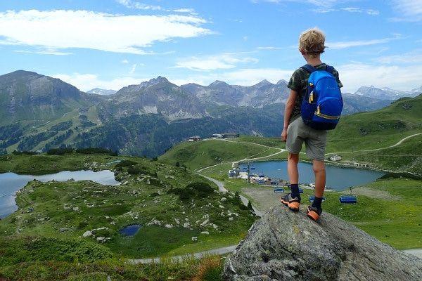 Uitzicht Obertauern in de zomer