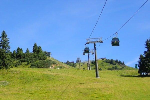 Skilift zomer obertauern