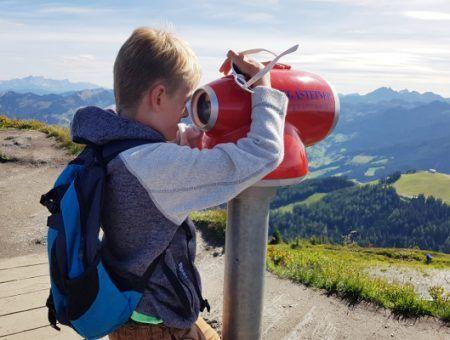 Kindvriendelijke bergwandeling op de Fulseck in Dorfgastein