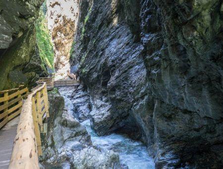 Liechtensteinklamm binnenkort weer open voor publiek