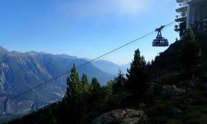 Venet Gipfelhütte in Tirol: slapen in een berghut op 2.212 m hoogte