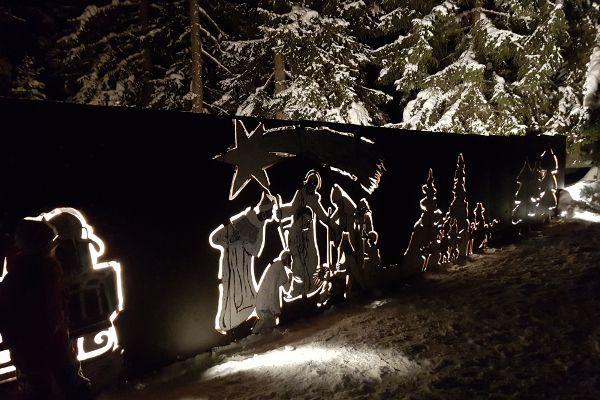 De kerstidylle in Filzmoos